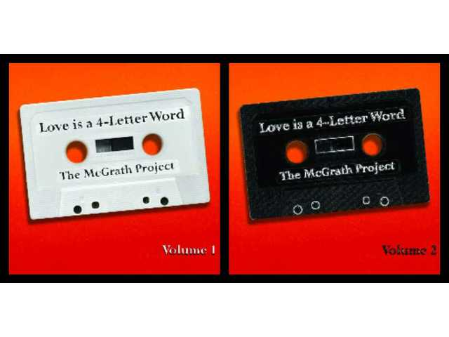 Second mcgrath project album scores gold for Love is a four letter word album cover