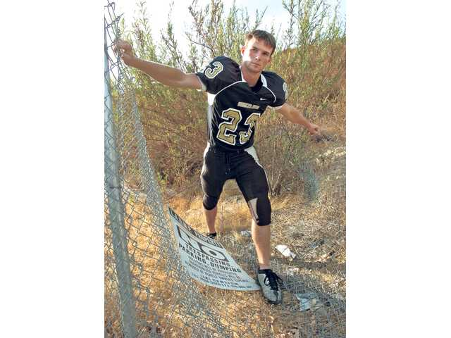 Golden Valley football: Sean Tate, Going full force
