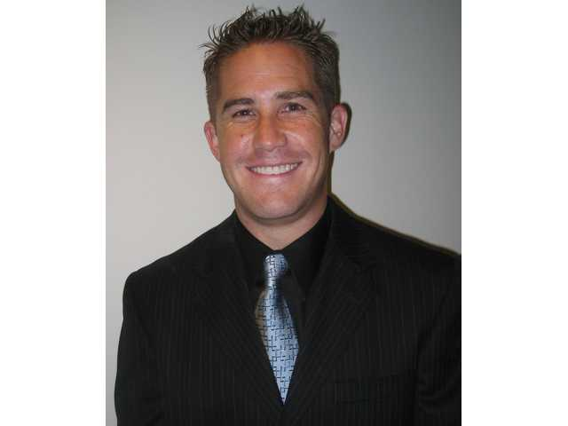 Pete Gentz, Sequioa Charter School's newly appointed principal