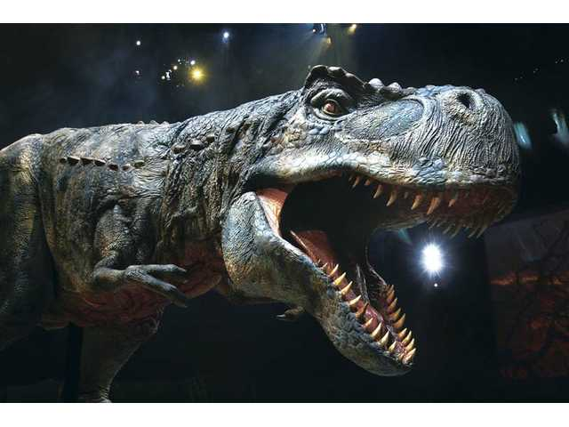 """Walking with Dinosaurs — The Arena Spectacular""  will end a three-year North American tour at the Staples Center in downtown Los Angeles. The show will offer seven performances Sept. 9-12. Tickets are $39-$79."