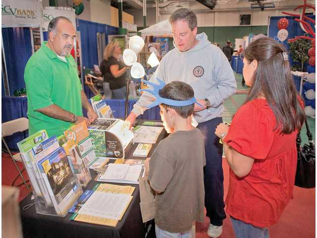 The SCV Chamber of Commerce, in association with the city of Santa Clarita, opted to expand the exhibit space at the SCV Community Expo this year after last year's show sold out and the Chamber could not accommodate all the businesses who wished to exhibit.