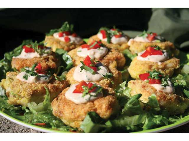 Trout cakes