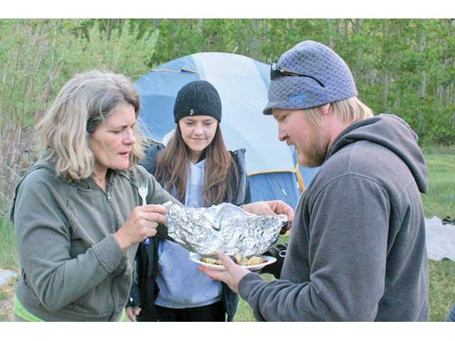Easy gourmet campout cooking