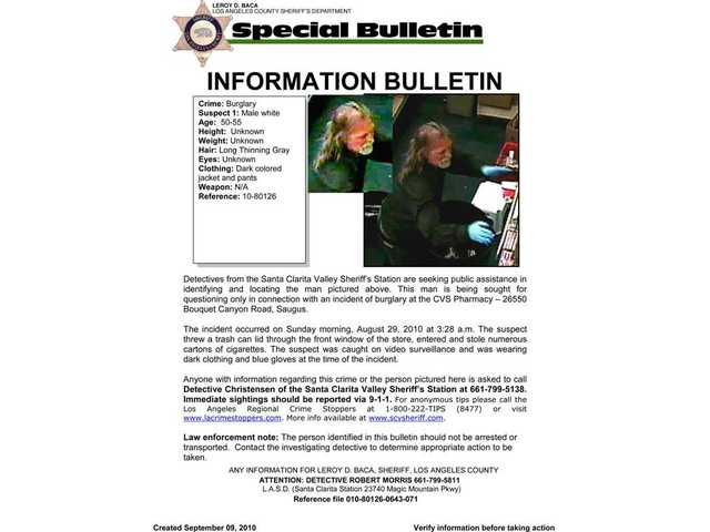 Do you know or have you seen this man? SCV Sheriff's Station detectives would like to hear from you. Call Detective Christensen at (661) 799-5138.
