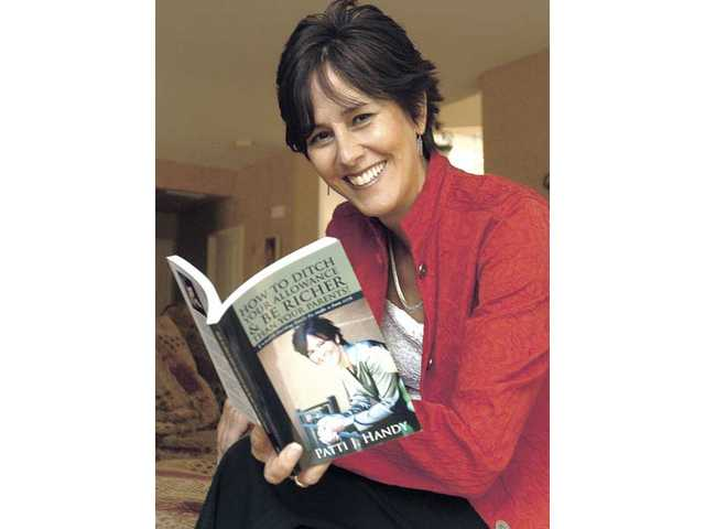 """Patti Handy, also known as """"Teens Cash Coach"""" with her book, """"How to Ditch Your Allowance & Be Richer Than Your Parents."""""""