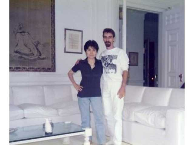 "Yoko Ono welcomed the author to the Dakota for a visit in July 1989, during the production of ""The Lost Lennon Tapes"" radio series heard worldwide via Westwood One."