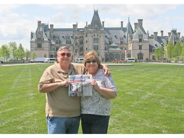David and Kathy Gartland celebrated their 40th anniversary early by visiting the Biltmore Estates in Asheville, N.C. The Biltmore is the largest privately owned home in the United States. The Gartlands' actual anniversary is Oct. 17.