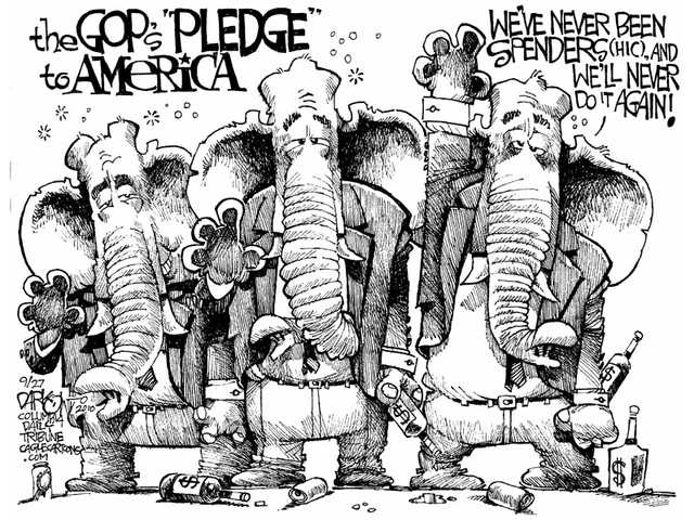 The GOP's 'pledge'