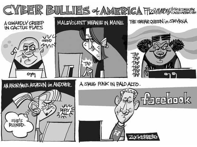 Cyber bullies of America