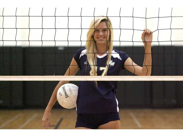 West Ranch junior middle blocker Angel Rutledge nearly didn't play for the Wildcats, but her love for the game and her teammates brought her back.