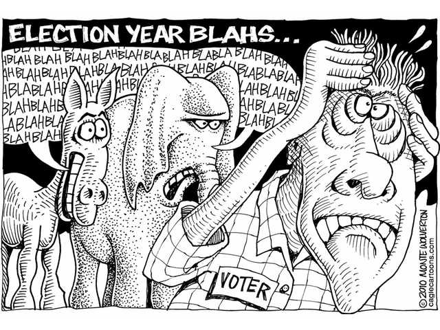 Election year blahs