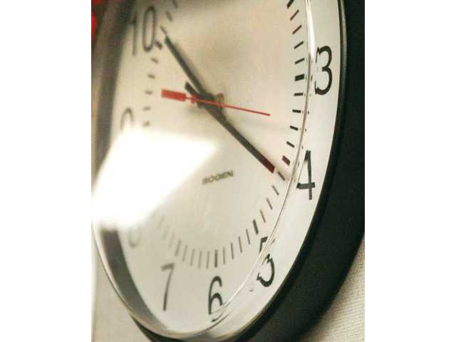 """When the clock struck 10:21 a.m., students began to prepare for the next """"big one."""""""