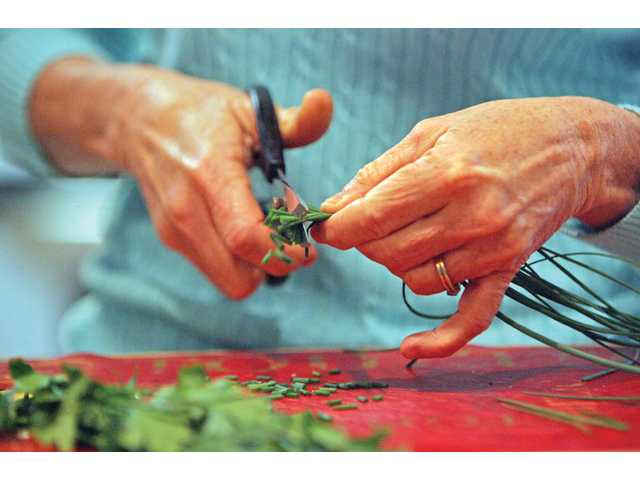 Fresh herbs can make all the difference in a recipe.