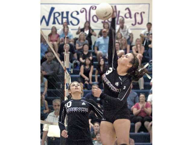 Prep volleyball: Vikes stand out