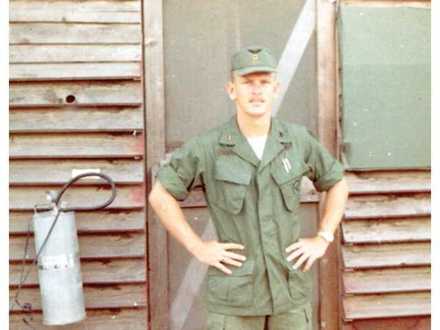 A photo taken in 1969 shows Jones in uniform