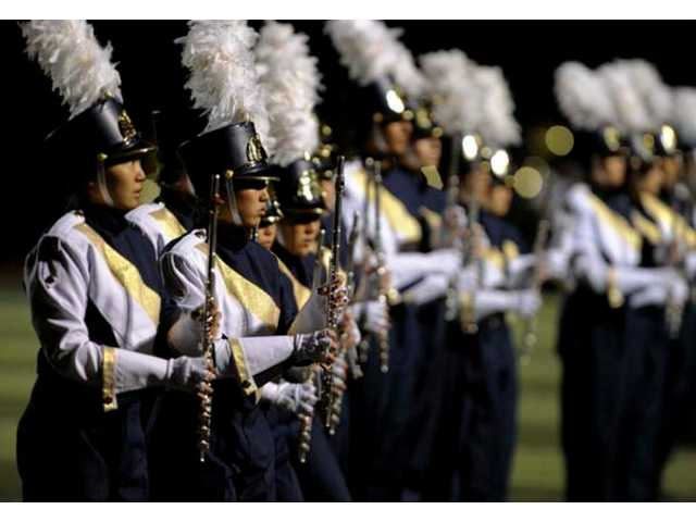 West Ranch High School's marching band took home the sweepstakes award for the second year in a row at the 27th annual Hart Rampage Marching Band Field Show Tournament.