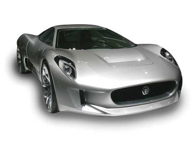 The Jaguar C-X75 concept might be the most beautiful car in the world.