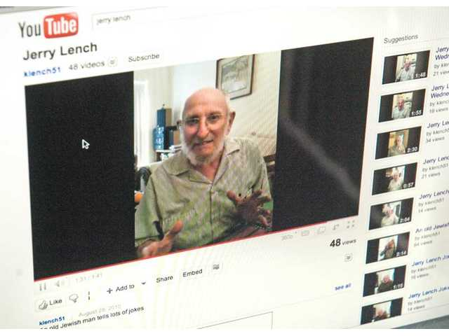 Jerry Lench's YouTube channel has more than 45 videos of jokes and stories.