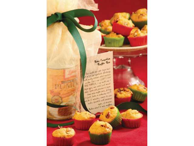 Mini-pumpkin-muffin mix