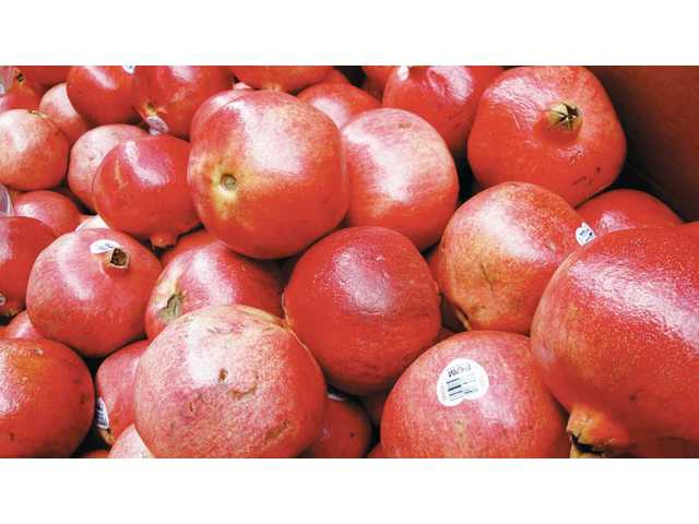 Pomegranates are available from November to January.