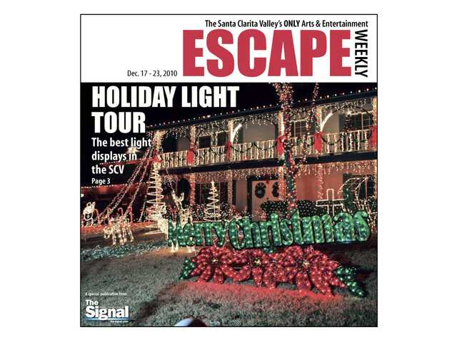 The Maddux home in Newhall was one of the highlights of The Signal's 2010 Holiday Light Tour.