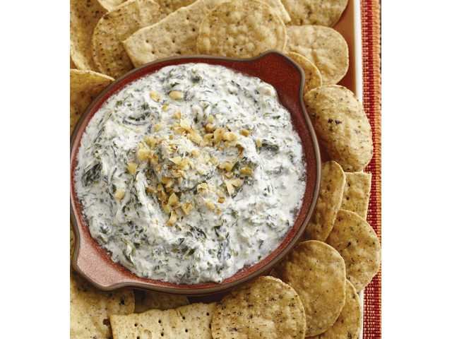 Original Ranch spinach dip