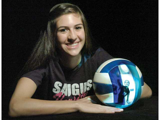 Saugus junior outside hitter Jaclyn Clark finished the season with a league-leading 353 kills and a team-high 341 digs. Now she has been named the The Signal's 2010 Girls Volleyball Player of the Year.