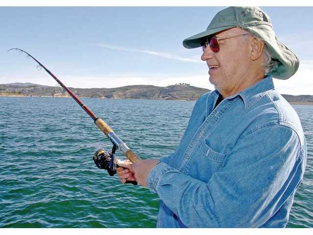 Going for a bite at castaic lake for Castaic lake fishing