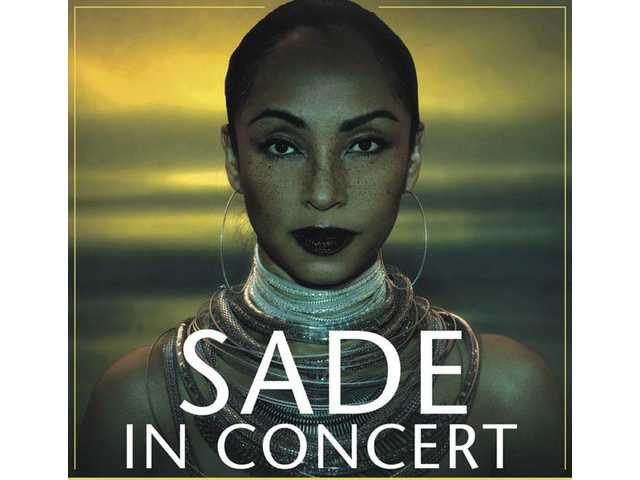 Sade performs at the Staples Center Aug. 19 and 20, and at the Honda Center Aug. 30.