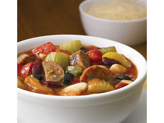 Touchdown Italian sausage chili