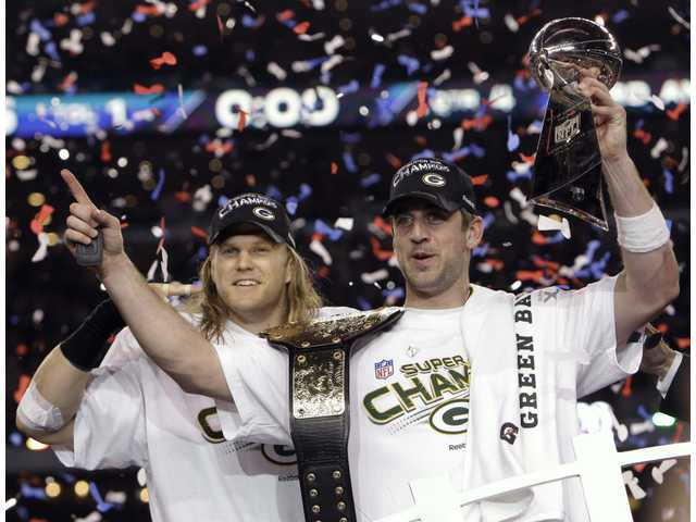 Super Bowl XLV: Green party