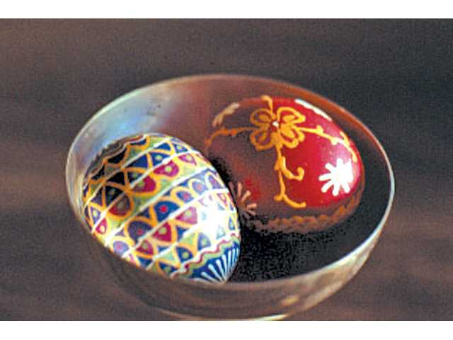 Fourth annual Pysanky making class scheduled