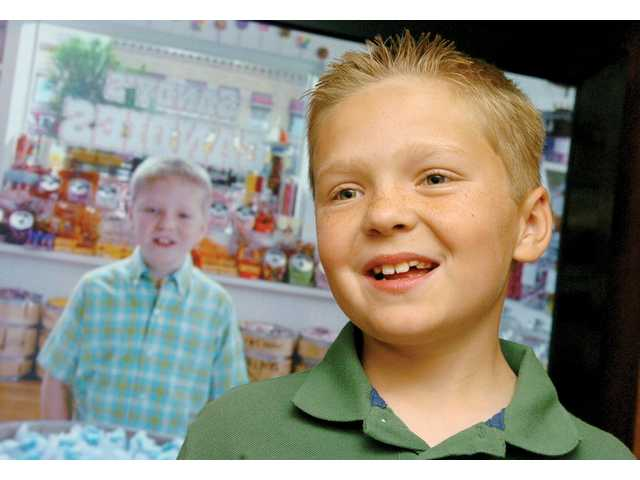Hunter Terry, 10, of Canyon Country, starred in a CarMax commercial seen by millions during the Super Bowl.