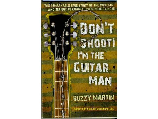 "Musician/author/youth advocate Buzzy Martin's ""Don't Shoot! I'm the Guitar Man,"" published by the author in 2007, was reissued by Berkeley/Penguin in September 2010. A movie adaptation shoots in April in the San Francisco Bay Area."