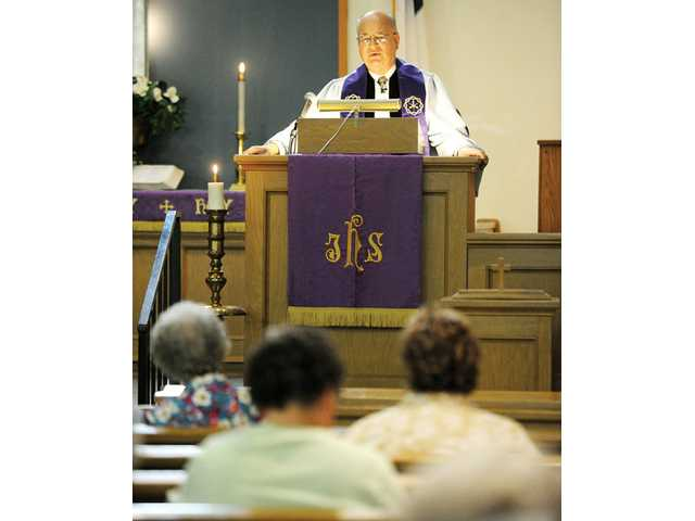Fix addresses the  Friendly Valley Community Church congregation. Ash Wednesday marks the first day of Lent, 46 days before Easter.