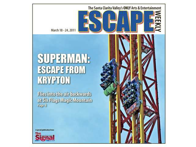 Superman: Escape from Krypton opens this Saturday at Six Flags Magic Mountain