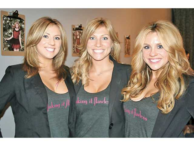 Santa Clarita sisters, from left to right, Kristen, Kelly and Kasey Perkins created a business from an initial effort to protect their skin from ultraviolet sunrays and tanning beds. The young entrepreneurs created a mobile-tanning business at salons in Santa Monica and Valencia, and hope to open their own place within the year.