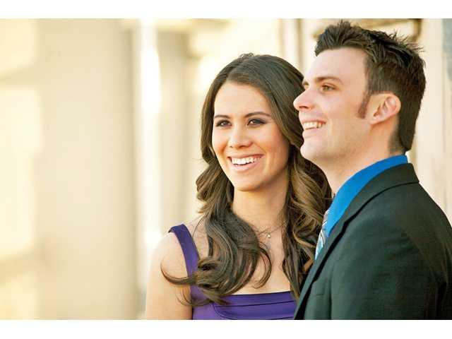 Jacqueline Langlois and Garrett Steffen