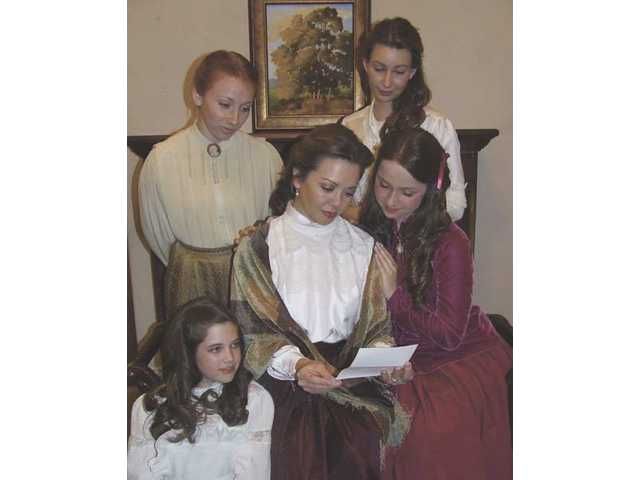 """Little Women"" plays at the Canyon Theatre Guild this Saturday at 2 p.m. and this Sunday at 6:30 p.m."