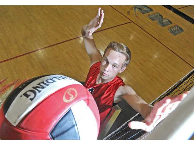 Major knee surgery forced Hart's J.J. Mosolf to direct his focus away from basketball and toward volleyball. Now, the Hawaii-bound senior wants to win a league title.