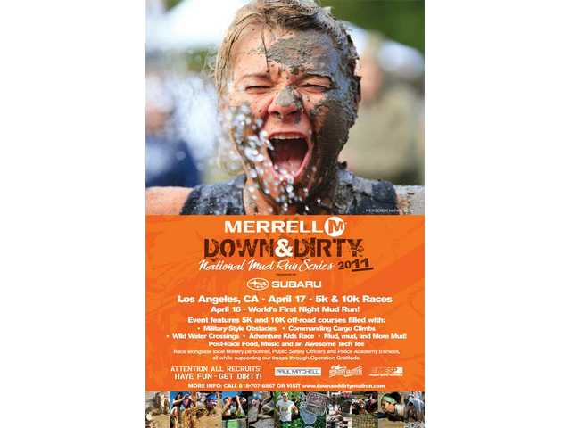 The Merrell Down & Dirty National Mud Run Series kicks off its 2011 season on Sunday, April 17 at Castaic Lake.