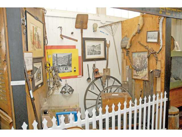 Heritage Junction in Newhall provides a glimpse into a rich slice of local history with its many exhibits, including this one, which illustrates many of the common tools used a century or more ago.