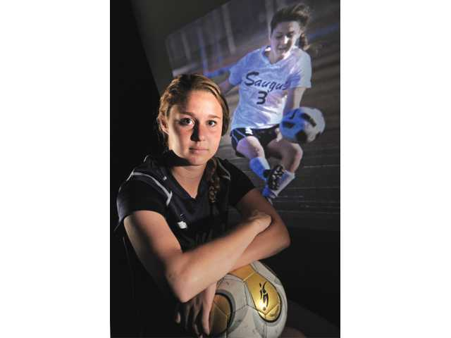 2011 All-Santa Clarita Valley Girls Soccer Player of the Year: Saugus' Colleen Ortega