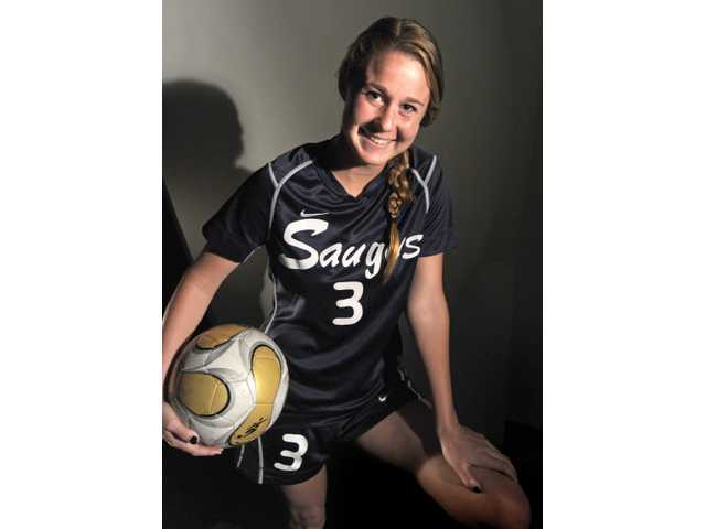 Saugus senior Colleen Ortega played defense and midfield this season for the Centurions and paced a 10-0-0 Foothill League record.