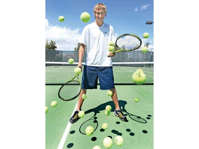 Given his easygoing nature, it's easy to mistake West Ranch junior Baron Von Kessler for someone who isn't committed to tennis. But he's 10-2 this season for the Wildcats, and he hopes to help them dethrone perennial Foothill League power Valencia.