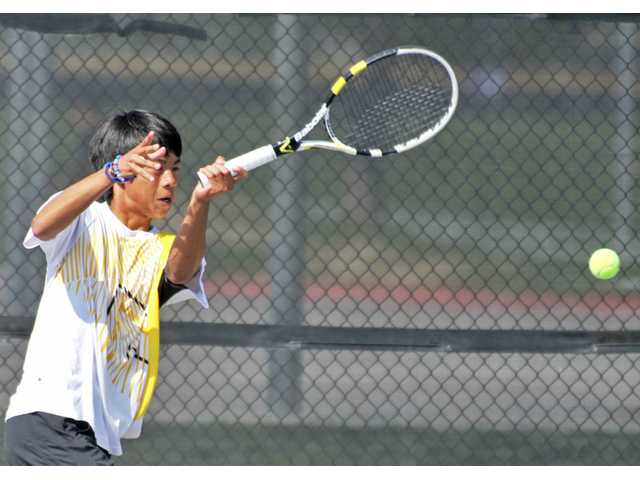Foothill League boys tennis: Valencia too strong up top