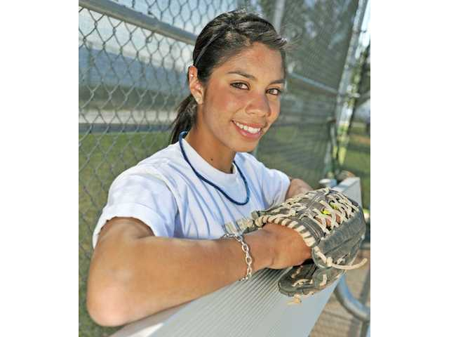Senior Branndi Melero played a big role in bringing the new coaching staff to Golden Valley.