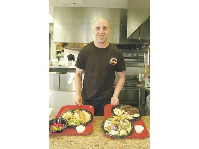 Owner Haig Semerjian opened It's A Wrap Fresh Pita Grill in March, after his uncle suggested bringing authentic Armenian/Middle Eastern food to Valencia.