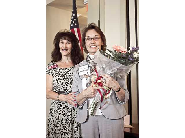 Diane Bartley earns Zonta service award