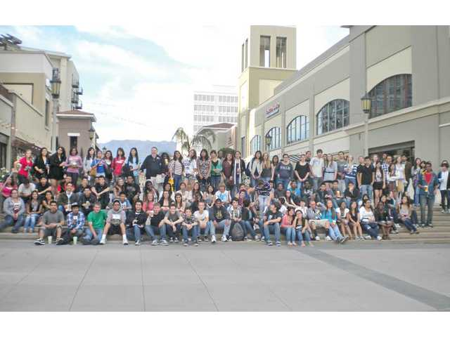 Golden Valley High School students had the opportunity to visit a national college fair held in Pasadena earlier this year.